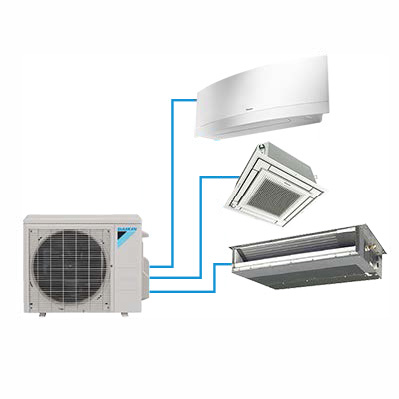 daikin product Multi Zone Daikin AURORA2 and 3 zones 2018